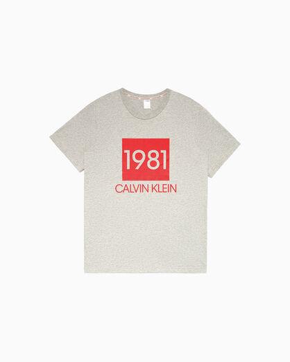 CALVIN KLEIN CK1981 BOLD LOUNGE CREW TEE