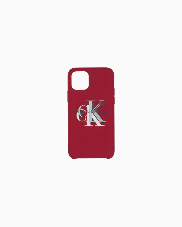 CALVIN KLEIN SILICONE MONOGRAM IPHONE 11 CASE