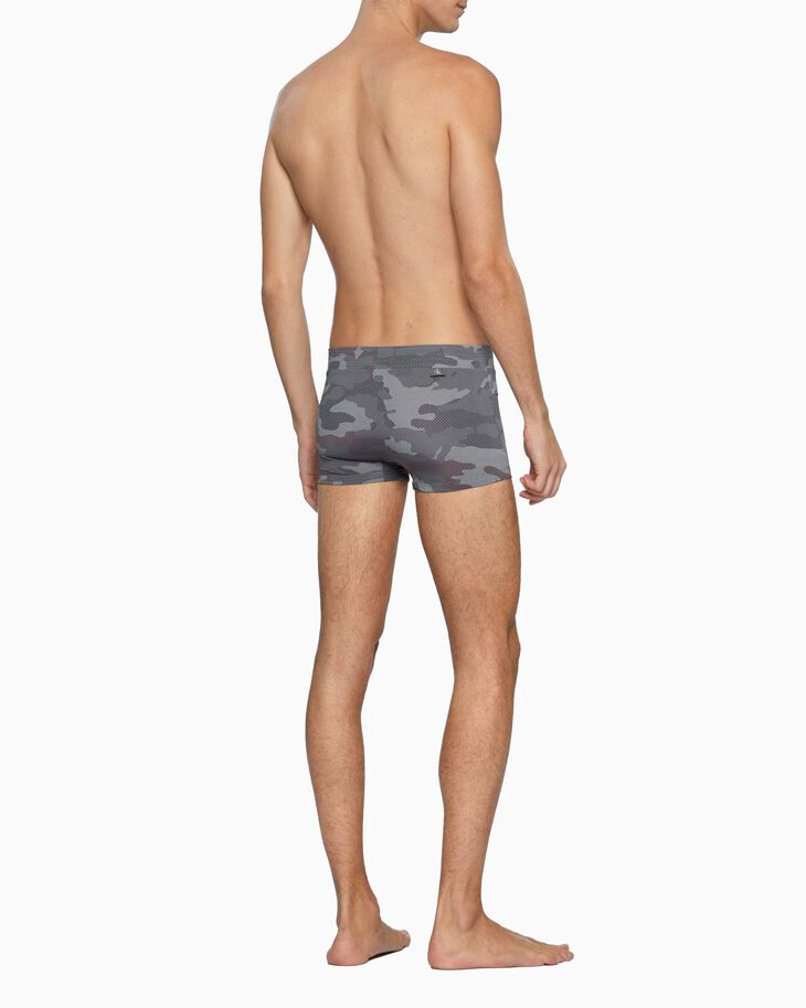 CALVIN KLEIN CK ONE CAMO MICRO LOW RISE TRUNKS