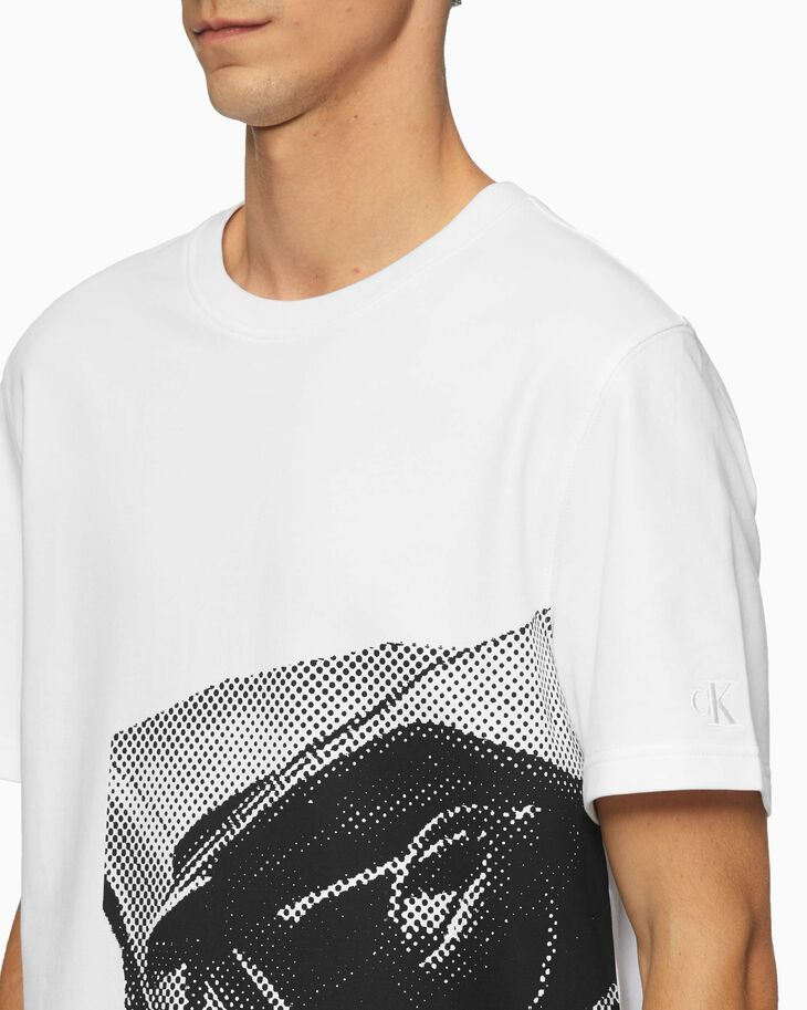 CALVIN KLEIN CAR PHOTO PRINT TEE