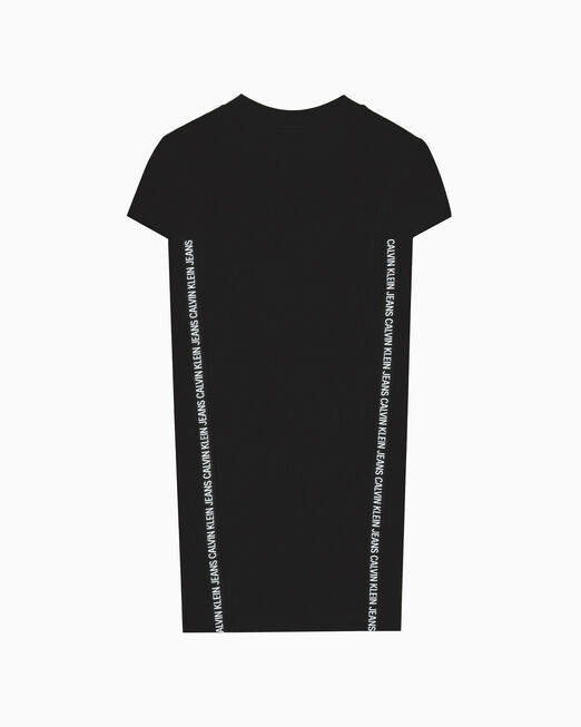 CALVIN KLEIN LOGO TAPE 티셔츠 드레스