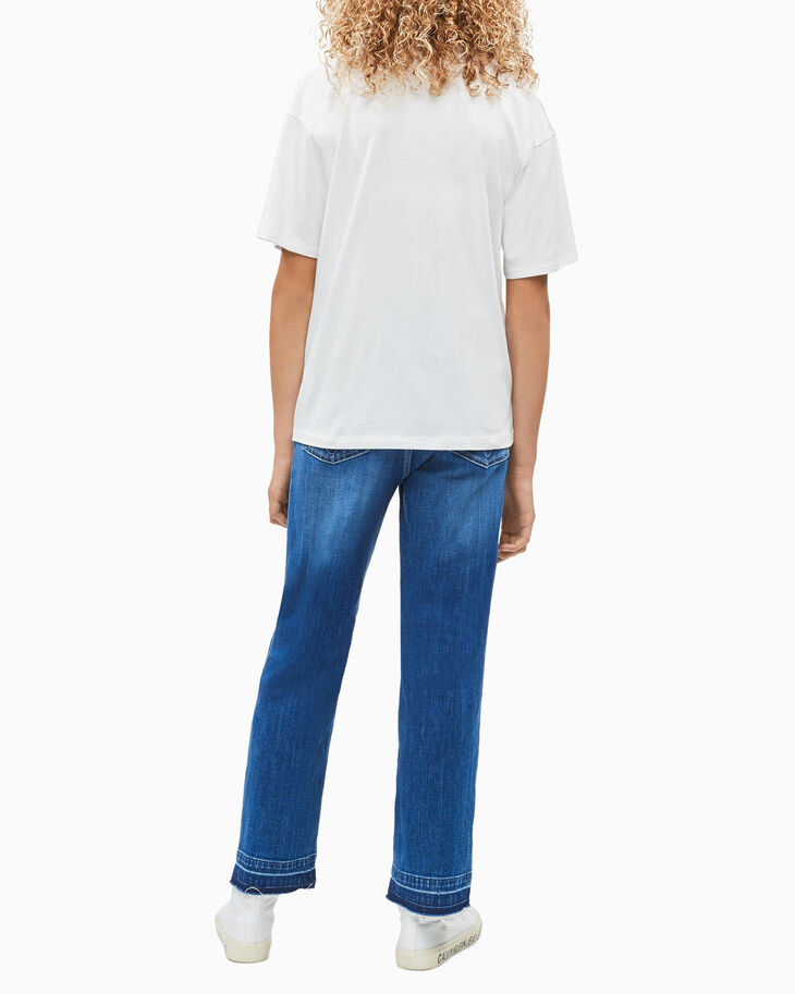 CALVIN KLEIN GIRLS' PHOTO PRINT TEE