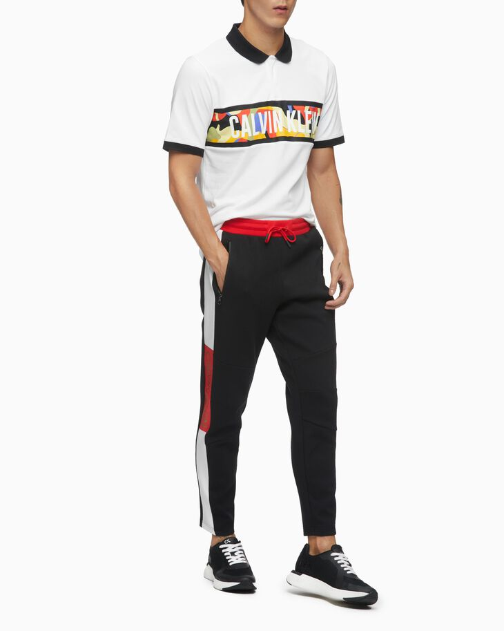 CALVIN KLEIN CHINESE NEW YEAR CAPSULE COLOR BLOCK SWEATPANTS