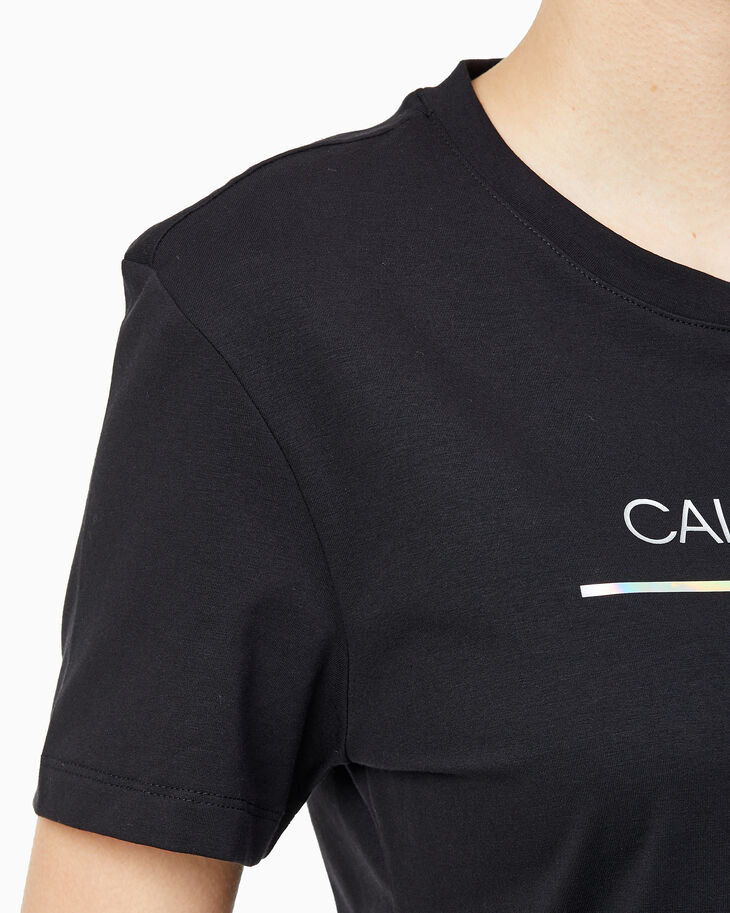 CALVIN KLEIN IRIDESCENT MONOGRAM 修身上衣