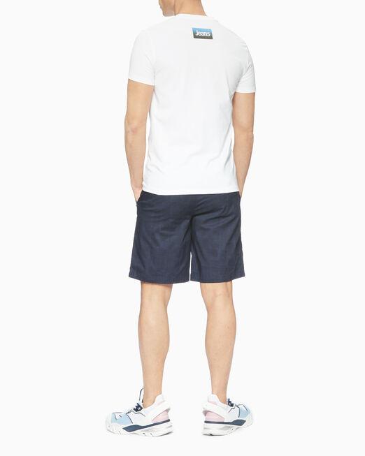 CALVIN KLEIN 남성 슬림핏 37.5 박스 반팔 티셔츠