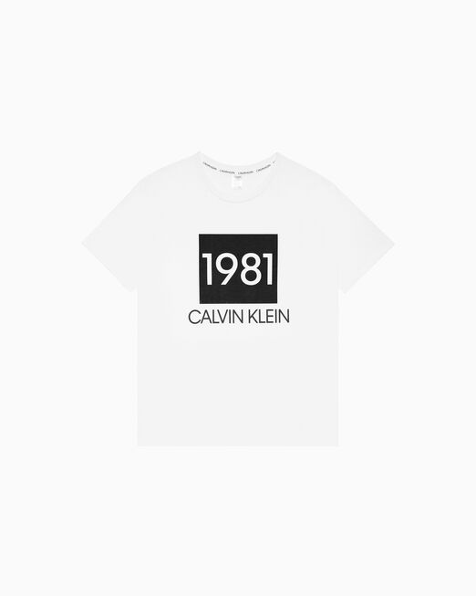 CALVIN KLEIN CK1981 BOLD LOUNGE 크루넥 티셔츠