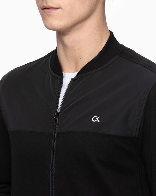 CALVIN KLEIN 남성 액티브 아이콘 봄버 자켓