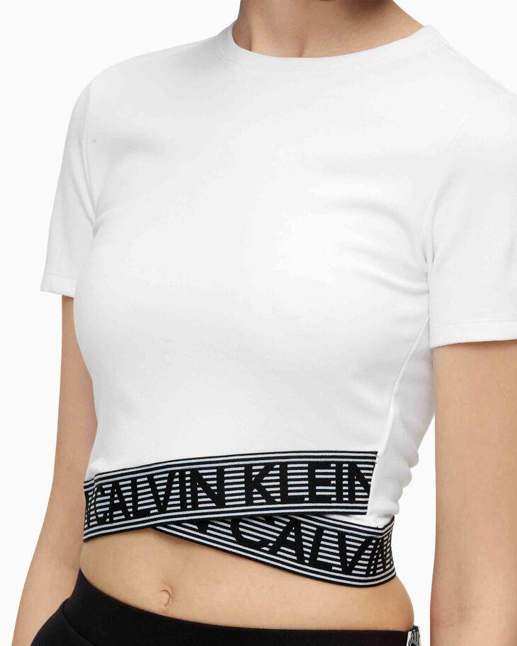 CALVIN KLEIN ACTIVE ICON LOGO TAPE TEE