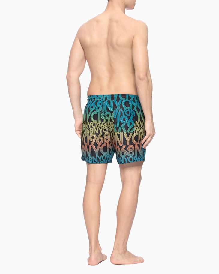 CALVIN KLEIN INTENSE POWER ALL OVER PRINT MEDIUM SHORTS