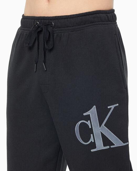 CALVIN KLEIN 남성 CK1 로우 엣지 라운지 팬츠