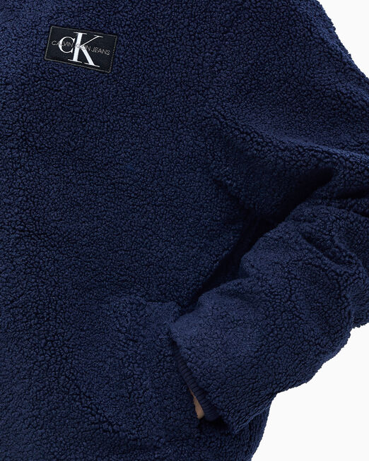 CALVIN KLEIN 여성 릴렉스핏 쉐르파 재킷