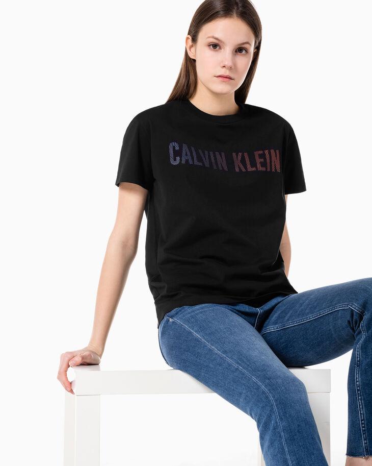 CALVIN KLEIN OMBRE LOGO SHORT SLEEVE TEE