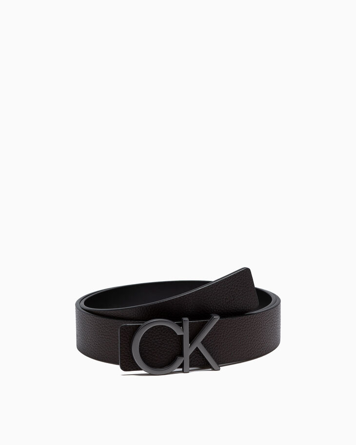 CALVIN KLEIN GRUNGE PREMIUM ITALIAN LEATHER BELT