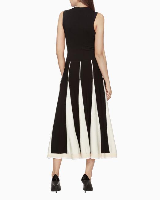 CALVIN KLEIN WARM TOUCH 비스코스 드레스