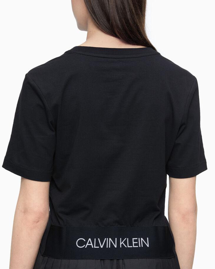 CALVIN KLEIN ACTIVE ICON KNOT DETAIL 上衣
