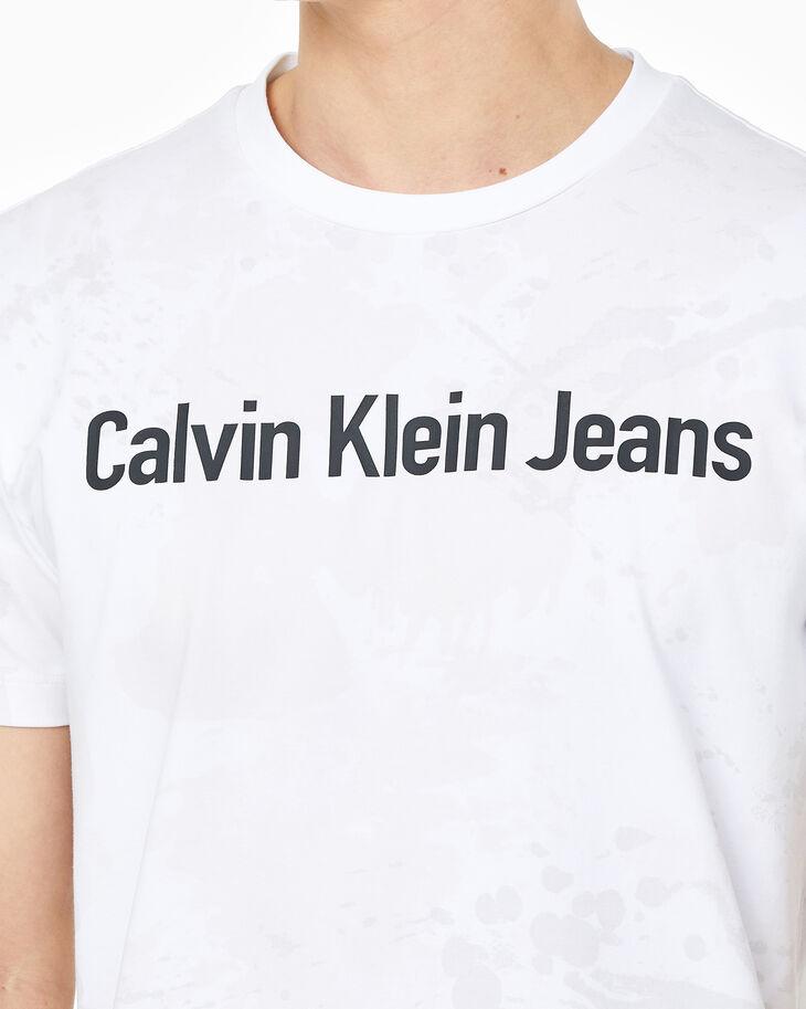 CALVIN KLEIN TONAL SPRAY PRINT LOGO 上衣