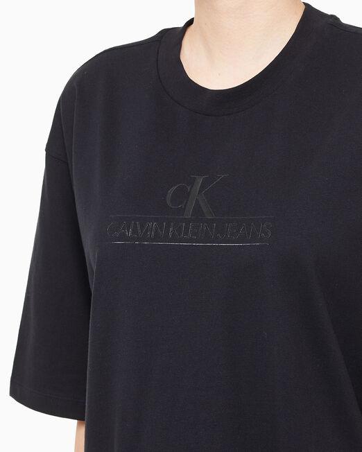 CALVIN KLEIN 여성 아카이브 로고 티셔츠
