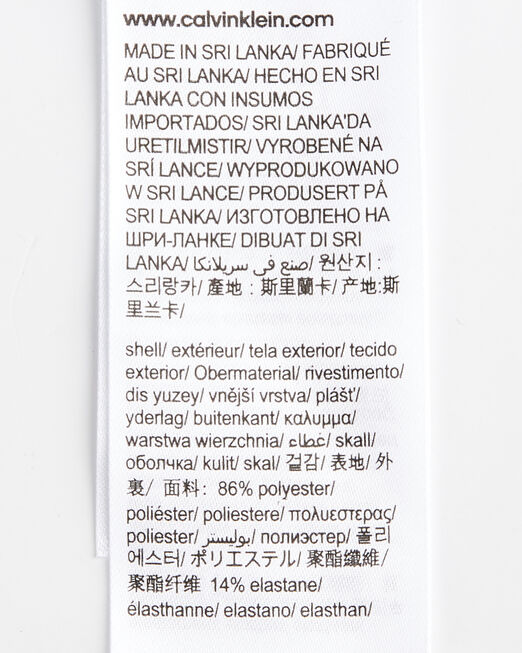 CALVIN KLEIN 남성 로고 웨이스트밴드 쇼츠