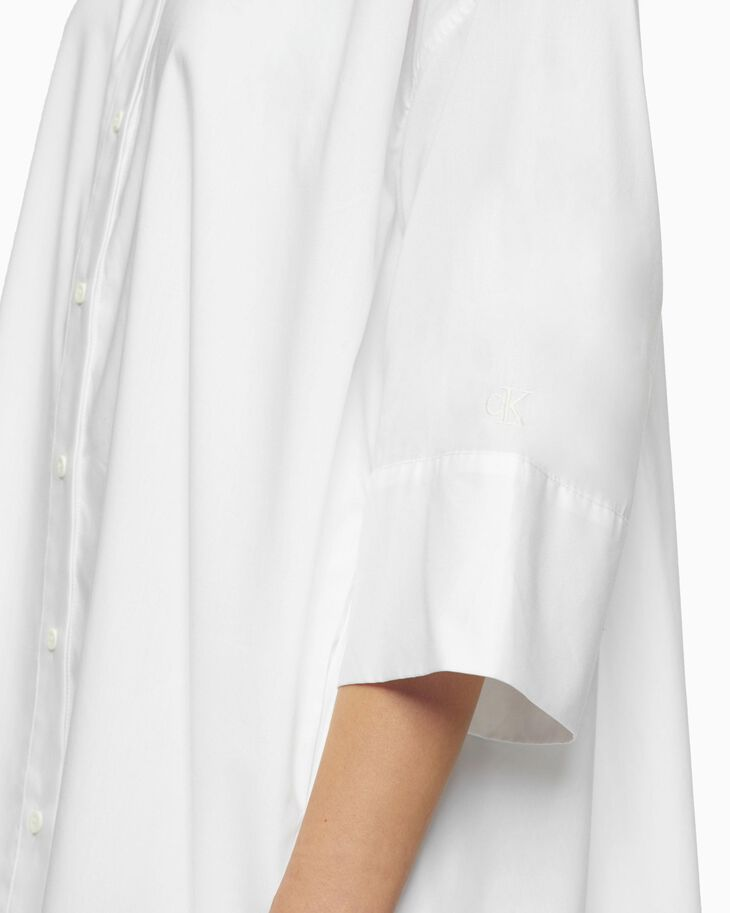 CALVIN KLEIN OVERSIZED SHIRT DRESS