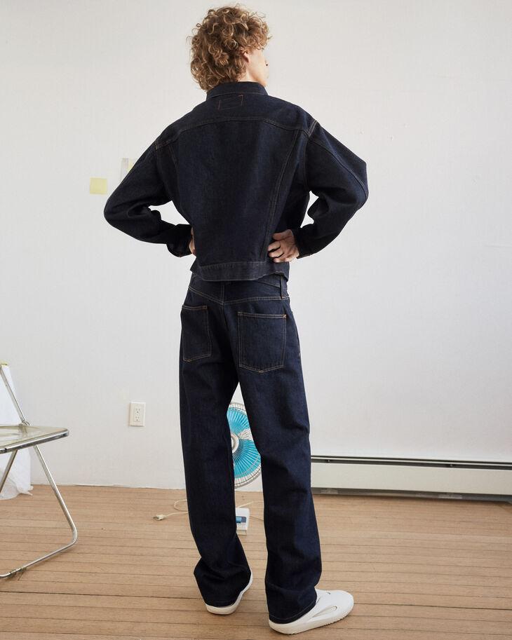 CALVIN KLEIN INDIGO RINSE DENIM 直筒牛仔褲