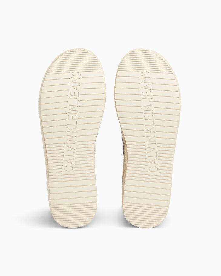 CALVIN KLEIN CHUNKY DENIM 編織涼鞋