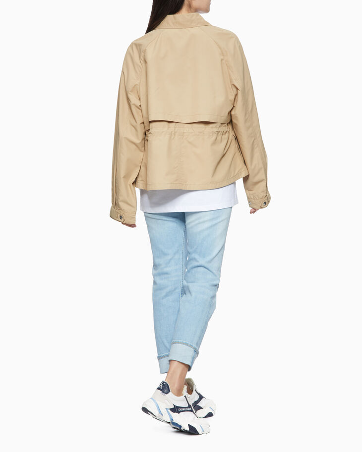 CALVIN KLEIN LIGHTWEIGHT 短版風衣外套