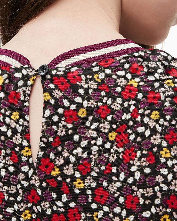 CALVIN KLEIN GIRLS VARSITY FLOWER DRESS