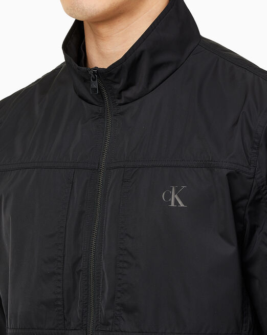 CALVIN KLEIN 남성 더블 카라 재킷
