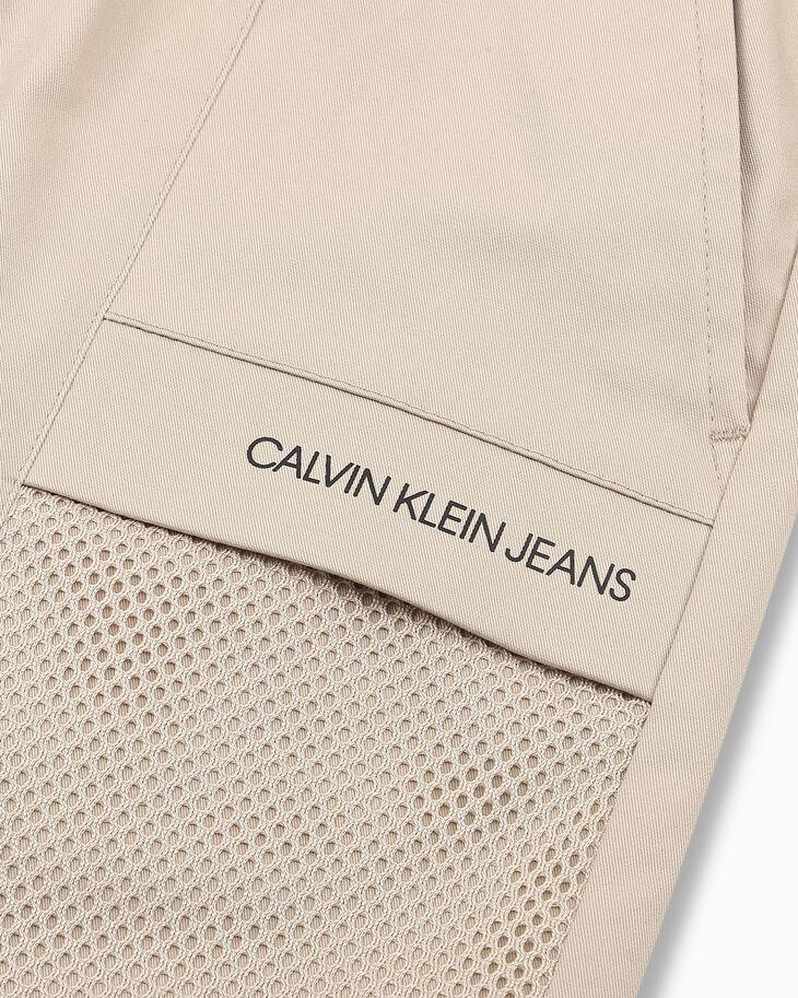 CALVIN KLEIN 37.5 SHORTS WITH OMBRE TRIM