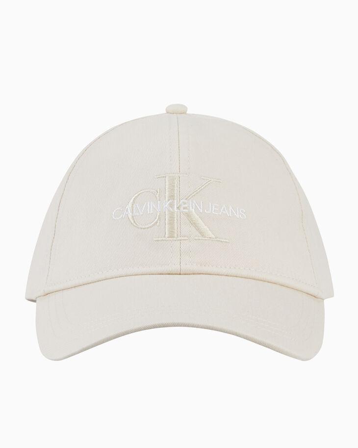 CALVIN KLEIN CKJ EMBROIDERED MONOGRAM CAP