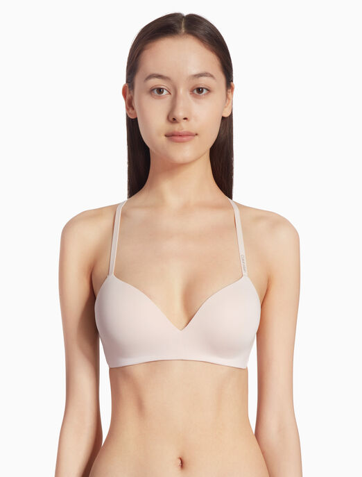 CALVIN KLEIN FORM LIGHTLY LINED 데미 브라