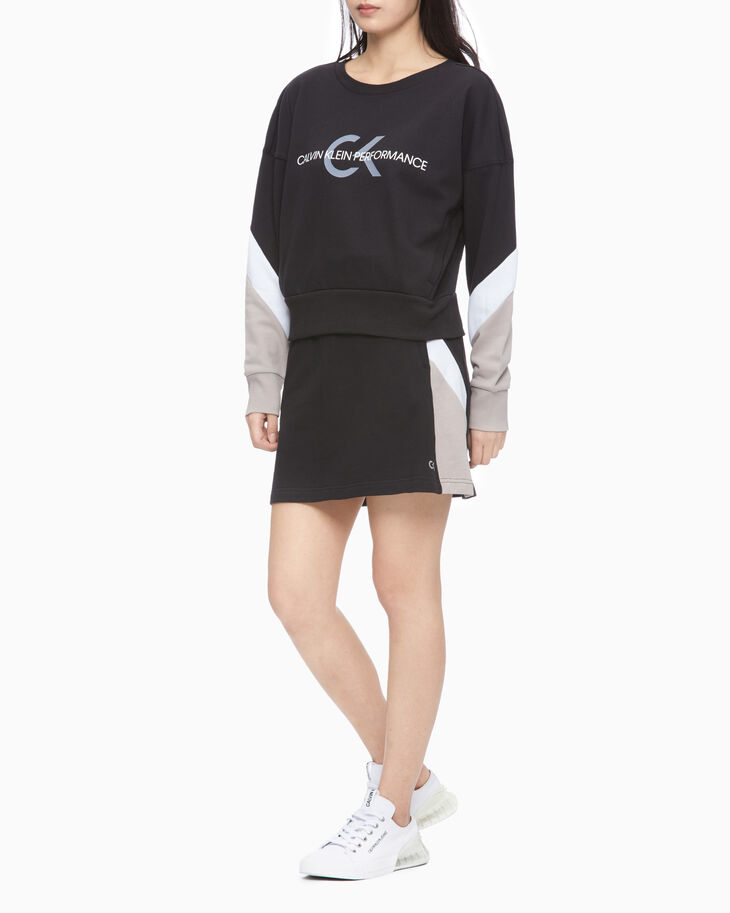 CALVIN KLEIN PERFORMANCE ICON PULLOVER SWEATSHIRT