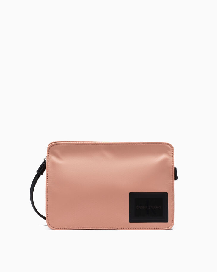 CALVIN KLEIN SLEEK NYLON POUCH BAG