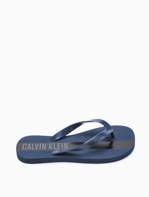 CALVIN KLEIN INTENSE POWER PLUS FLIP FLOP SANDALS