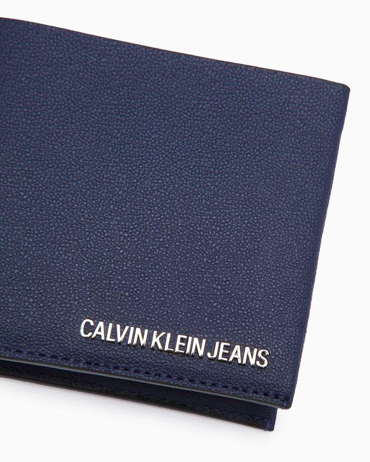 CALVIN KLEIN AIDEN GRAINED WALLET WITH CARD CASE