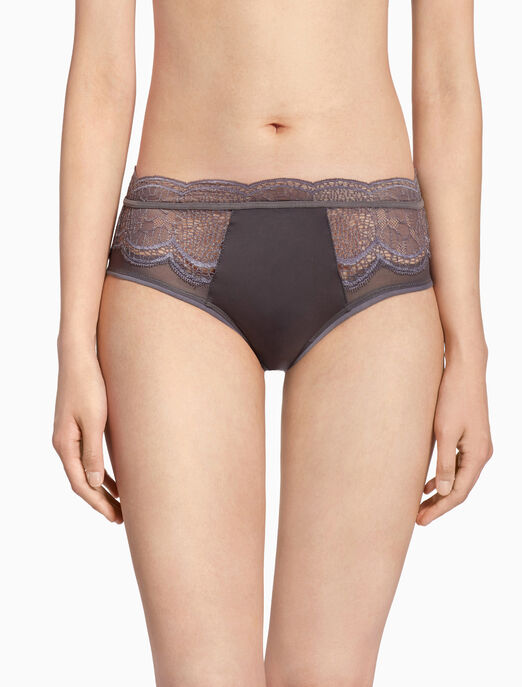 CALVIN KLEIN CK BLACK CRACKLED LACE 힙스터