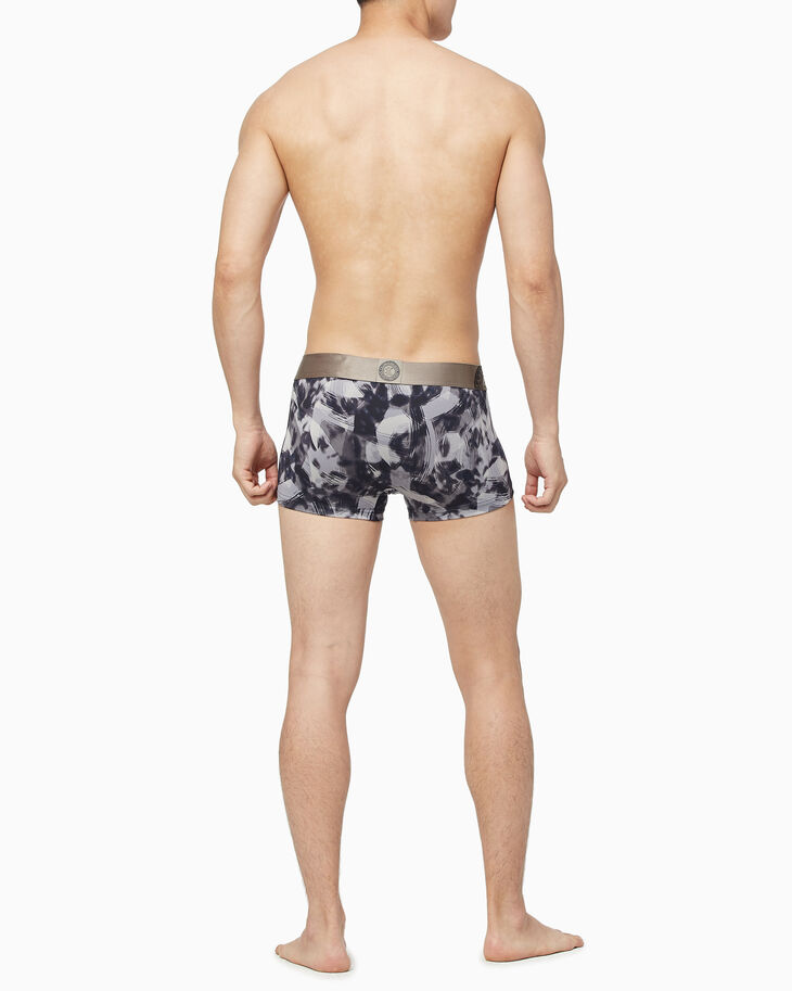 CALVIN KLEIN ICON PRINT MICRO LOW RISE TRUNKS