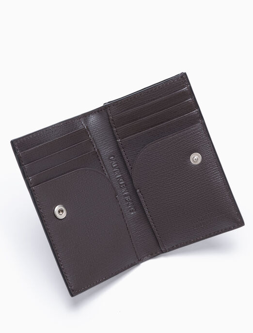 CALVIN KLEIN CARD CASE WITH COIN POCKET