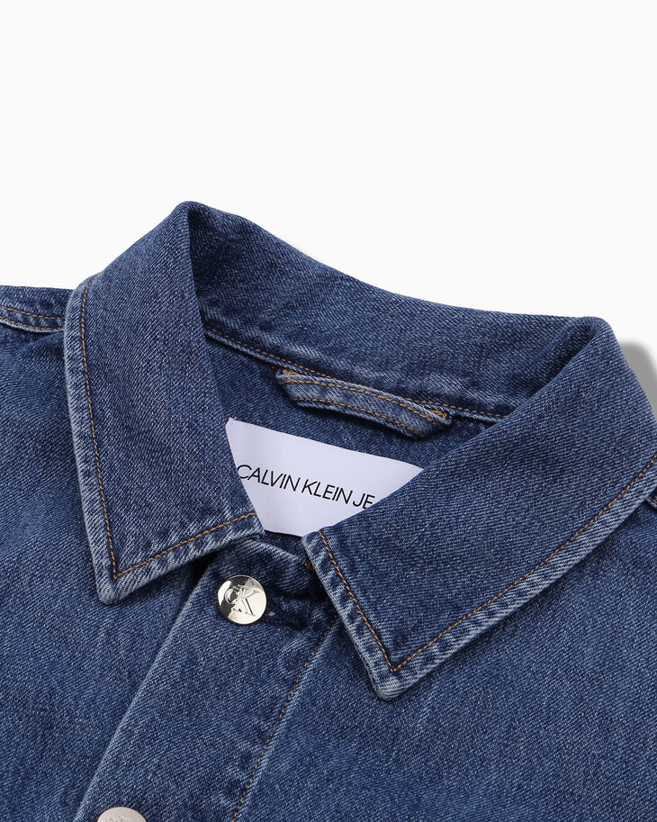 CALVIN KLEIN CHINESE NEW YEAR CAPSULE DENIM TRUCKER JACKET