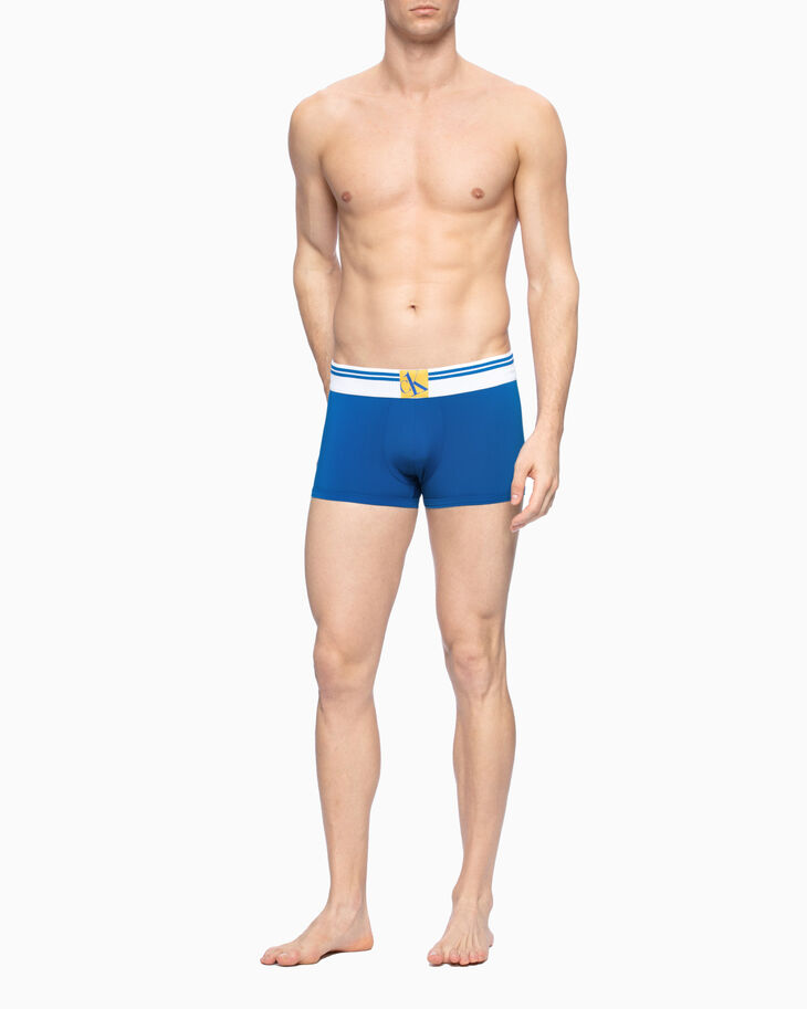 CALVIN KLEIN CK ONE RIBBED WAISTBAND LOW RISE TRUNKS