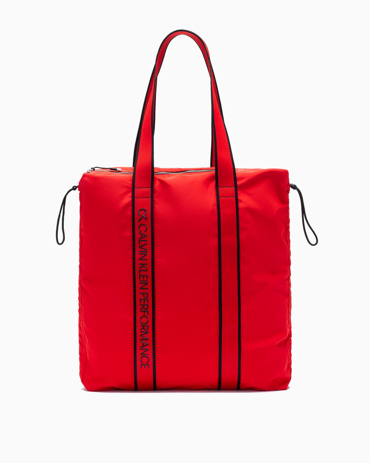 CALVIN KLEIN CINCHED HOLIDAY TOTE BAG