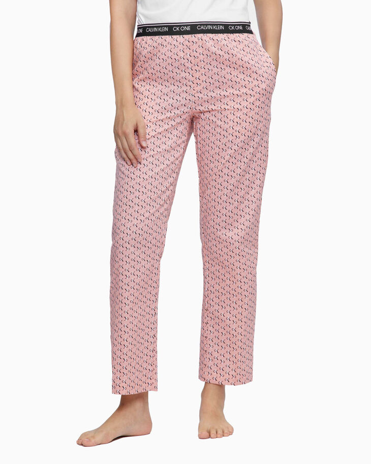 CALVIN KLEIN CK ONE WOVEN COTTON SLEEP PANTS