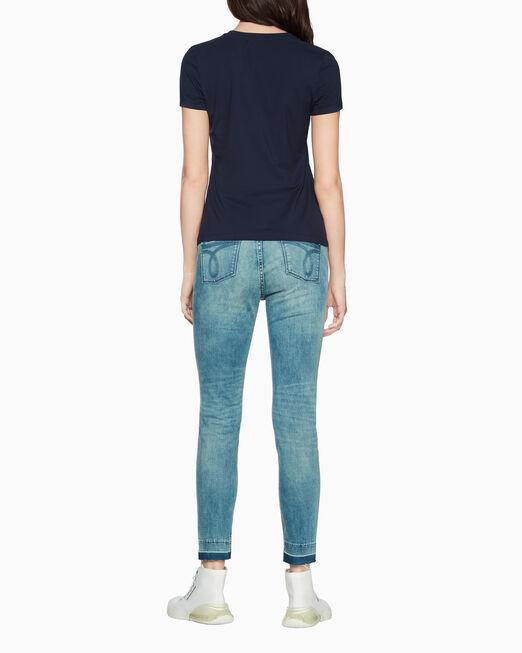 CALVIN KLEIN CALVIN LACE LOGO 티셔츠