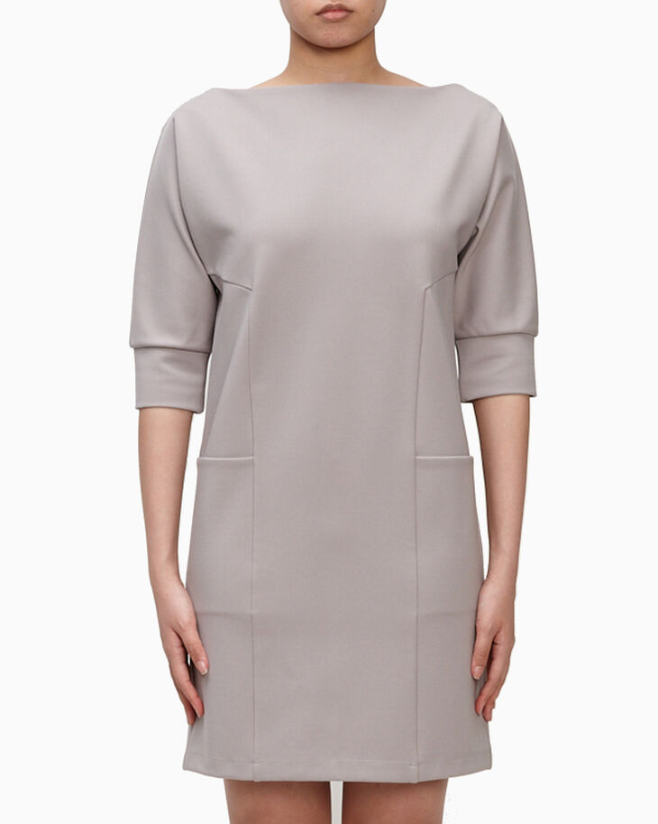CALVIN KLEIN MILANO SLASH DRESS