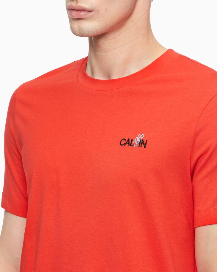 CALVIN KLEIN HEART CALVIN CREW NECK TEE