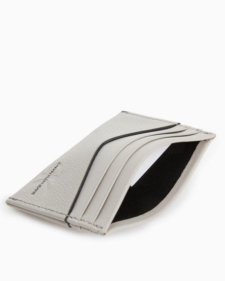 CALVIN KLEIN MICRO PEBBLE CARD CASE