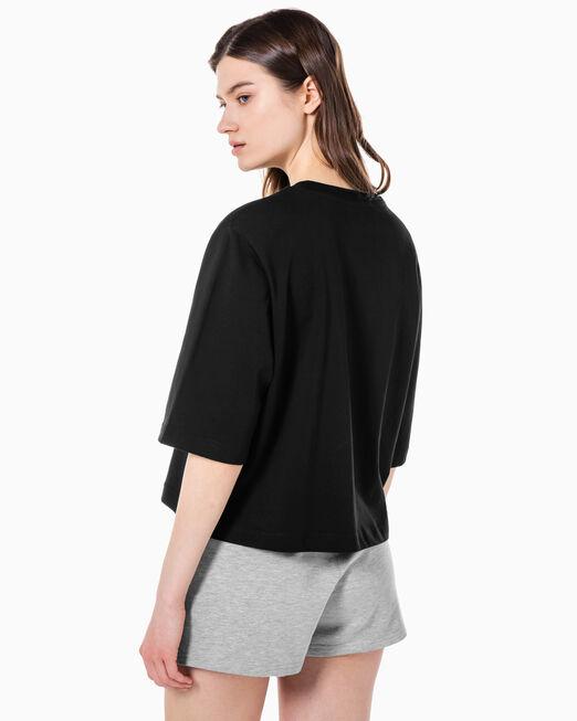 CALVIN KLEIN 여성 CK 스몰 로고 2Pack 반팔 티셔츠