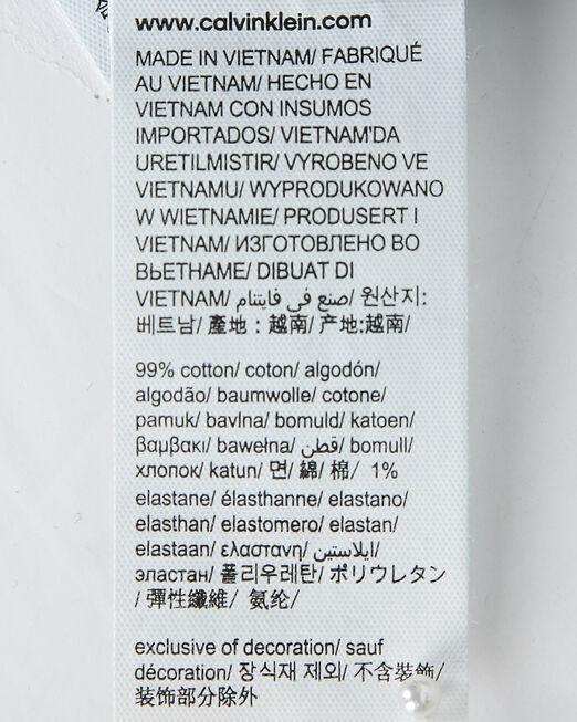 CALVIN KLEIN 남성 미드 블루 레귤러 스트레이트 핏 데님