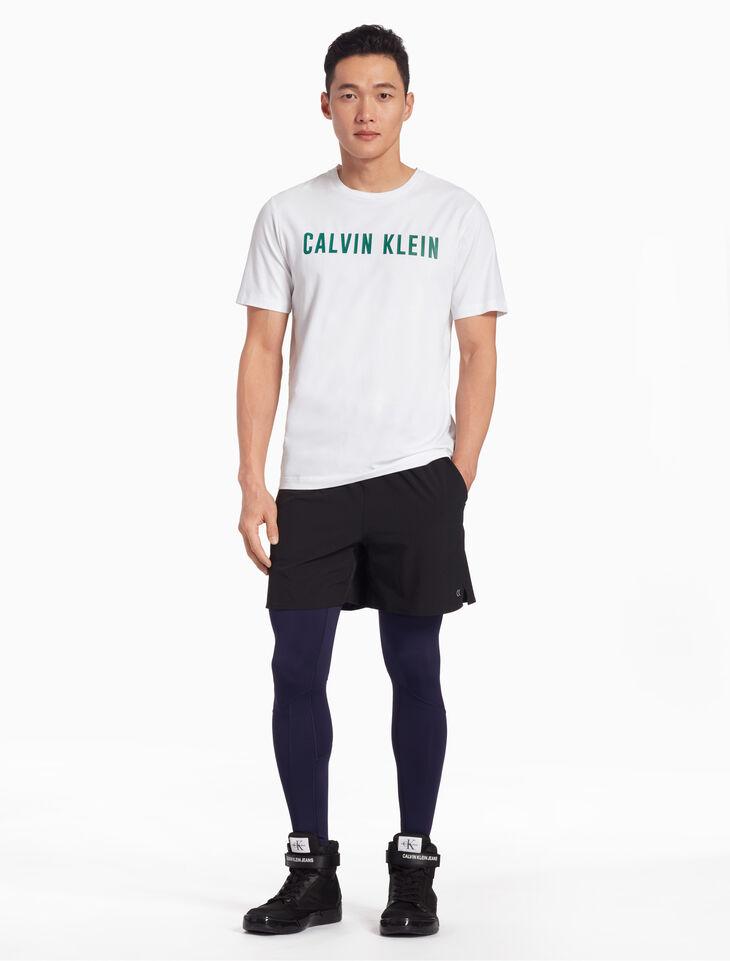 CALVIN KLEIN LOGO FULL LENGTH TIGHTS