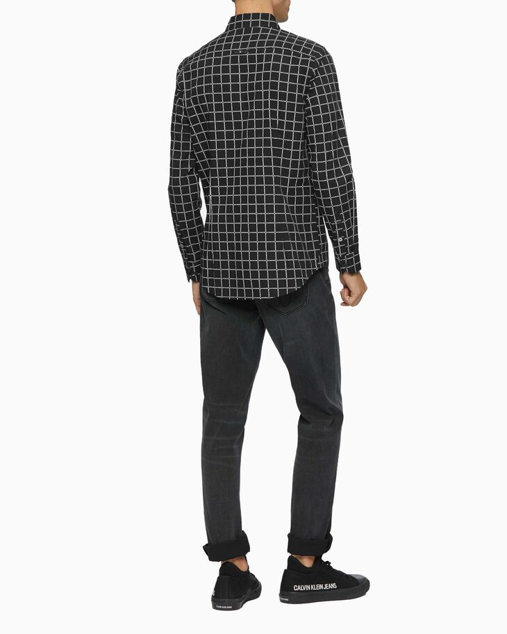 CALVIN KLEIN ALL OVER PRINT SLIM SHIRT